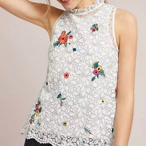 Maeve by Anthropology sleeveless top / blouse